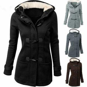PRE-ORDER Winter Hooded Slim Coat Jacket